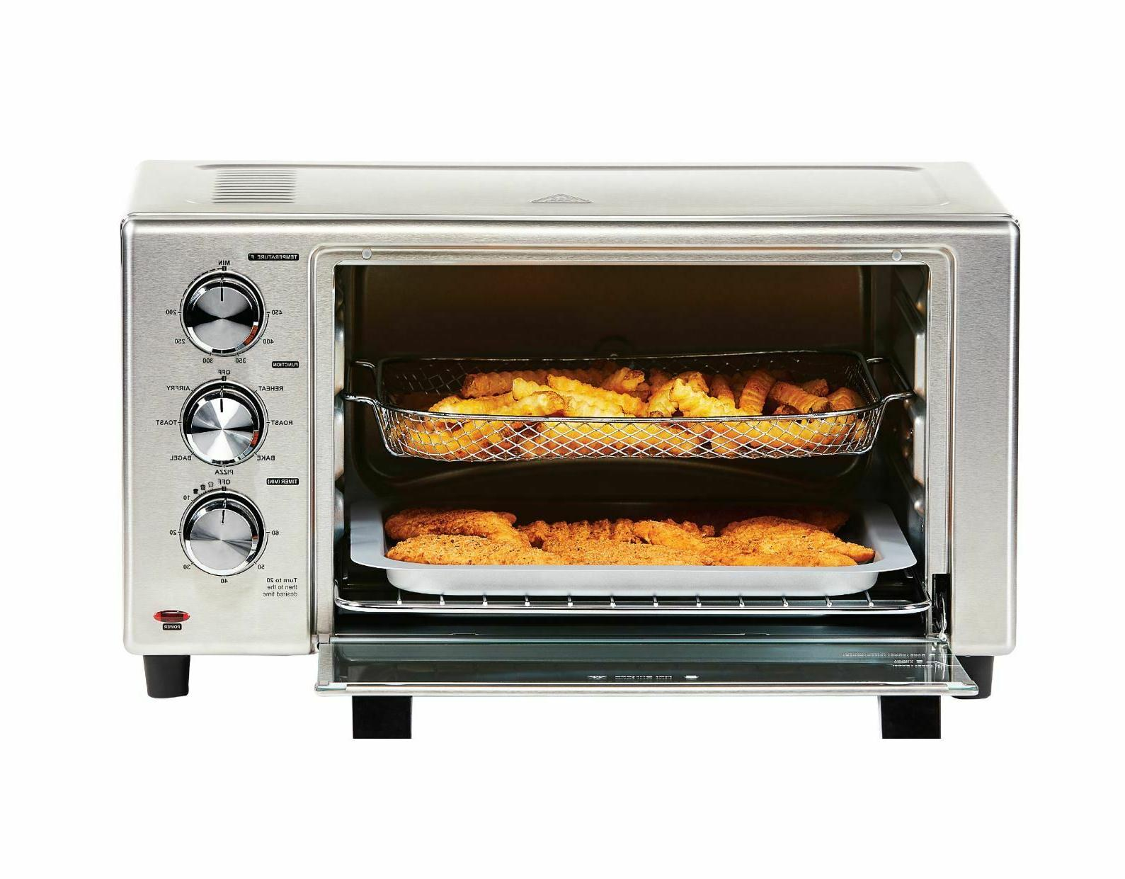 Large Fryer Size Bake Broil Counter