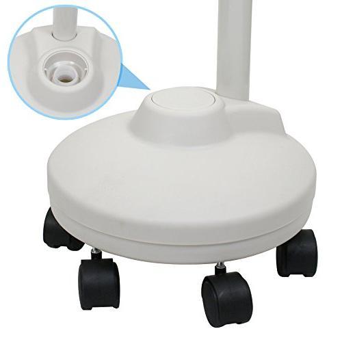 Super PRO Magnifying Lamp - 5 Rolling - Adjustable Gooseneck - Glass Light, For Crafts
