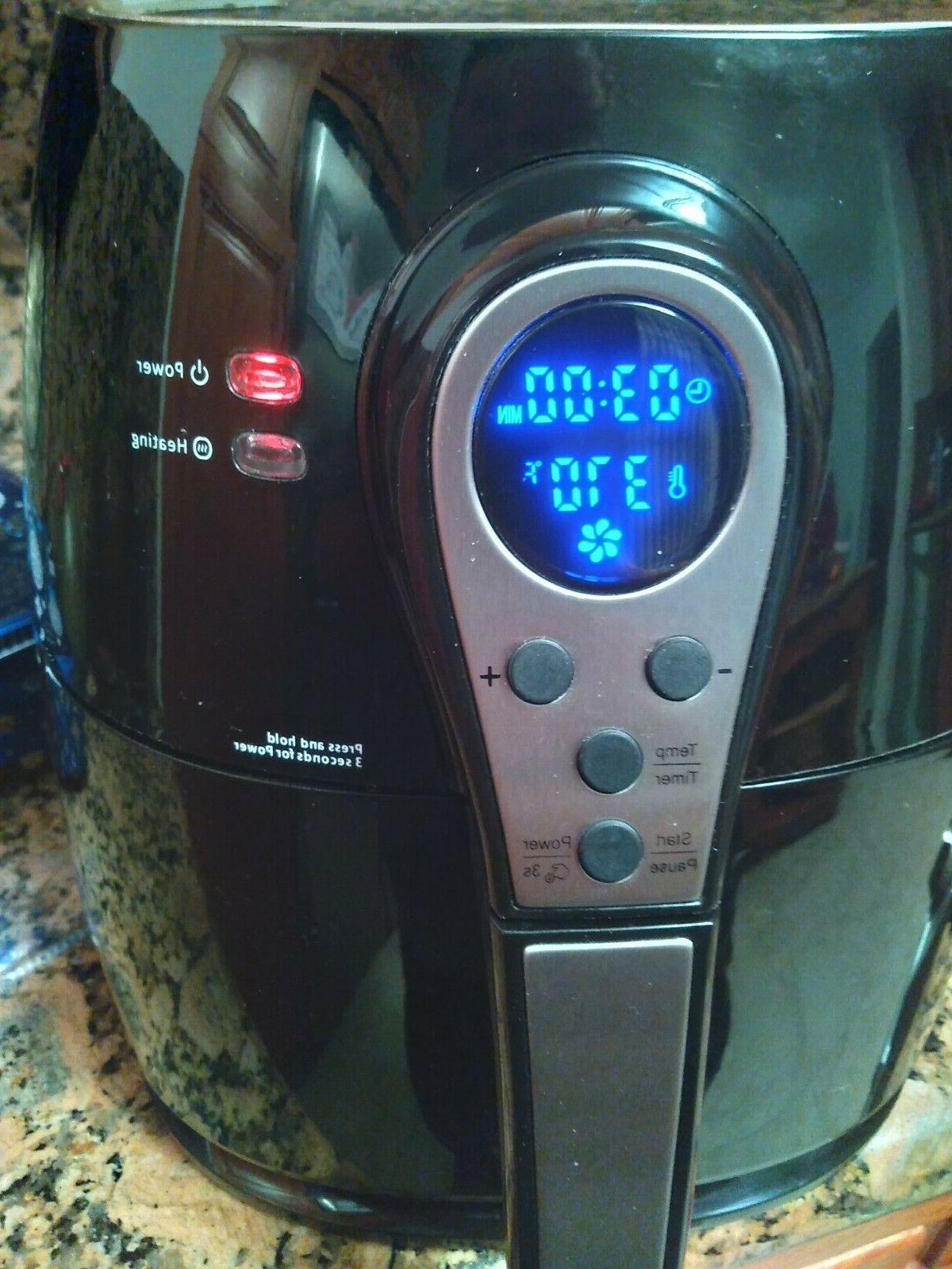 Maxi-Matic Elite Quart Electric Fryer... 1400