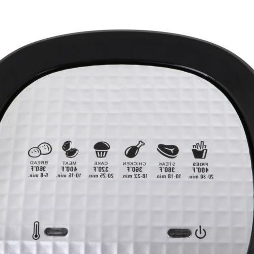 1500W Multi Function Hot Air 3.7 Qt. Dishwasher Safe