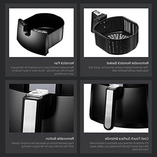 Comfee1500W Multi-Function Air Fryer Qt. Basket