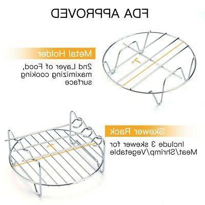 Multifunctional 5 Air Accessories Kit Skewer