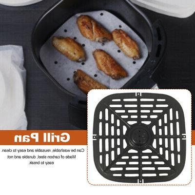 Multifunctional Carbon Steel Grill Pan For Electric Air Frye