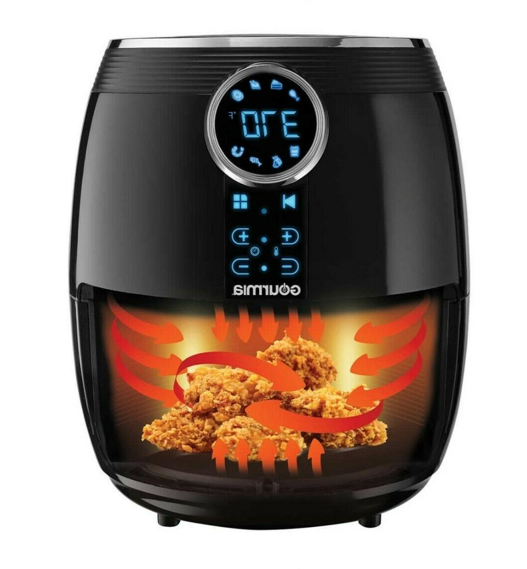 NEW -Gourmia Qt./4.7L Digital for Oil-Free Healthy Cooking