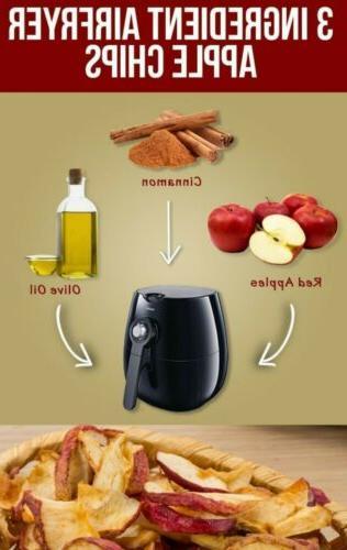 NEW Digital Air Oil-Free Healthy Cooking
