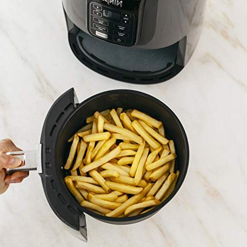 Ninja Air Programmable Base for Air Frying, & Dehydrating with Coated