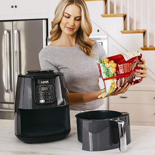Ninja Air 1550-Watt Programmable for Frying, Roasting, & Dehydrating Coated ,