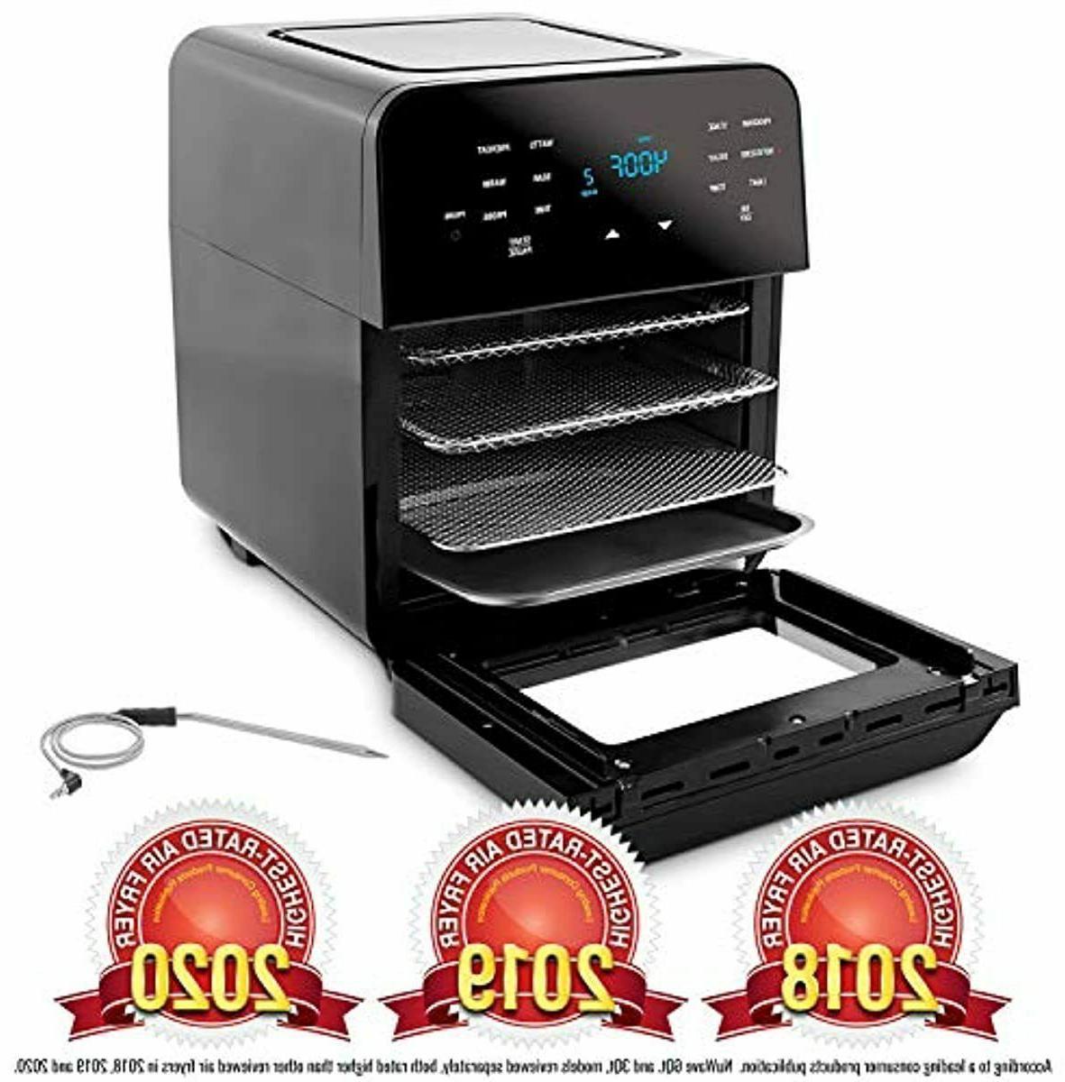 NUWAVE BRIO 14-Quart Large Capacity Air Fryer Oven with Digi