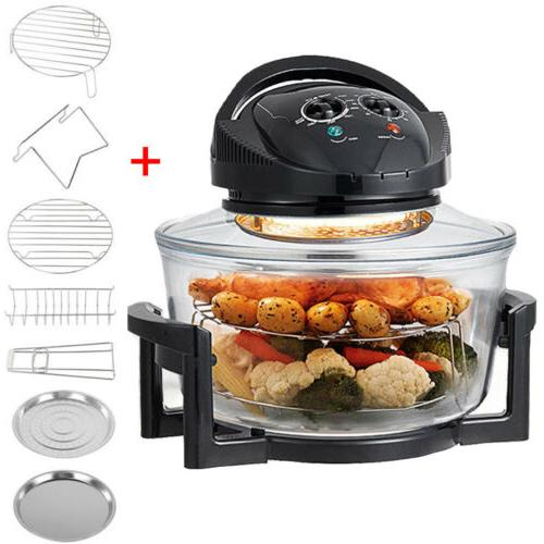 Electric Air Fryer Halogen Oven Healthy Cook 1400W Super Siz