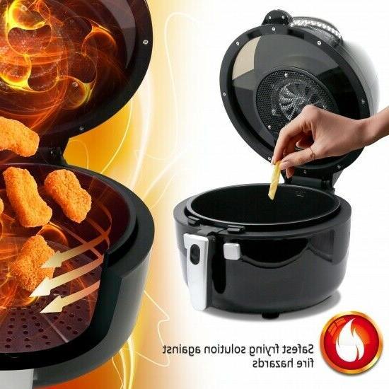 NutriChef PKAIRFR75 Digital Air Fryer 6.8 1350 Watt,