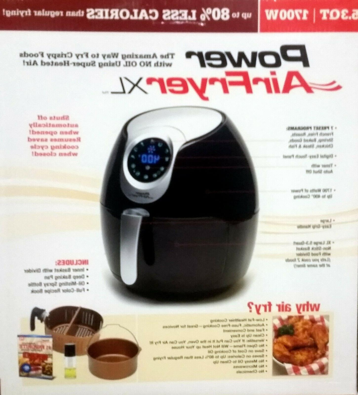 Power AirFryer XL Qt and Pan
