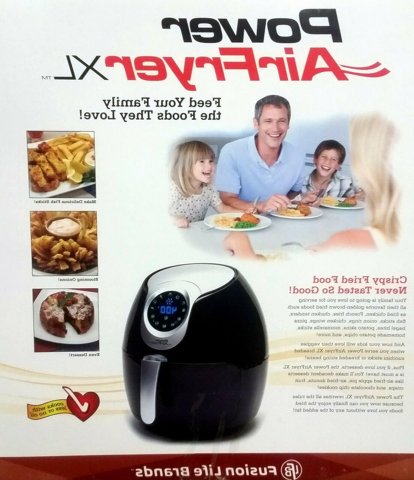 Power AirFryer Qt Fryer with and