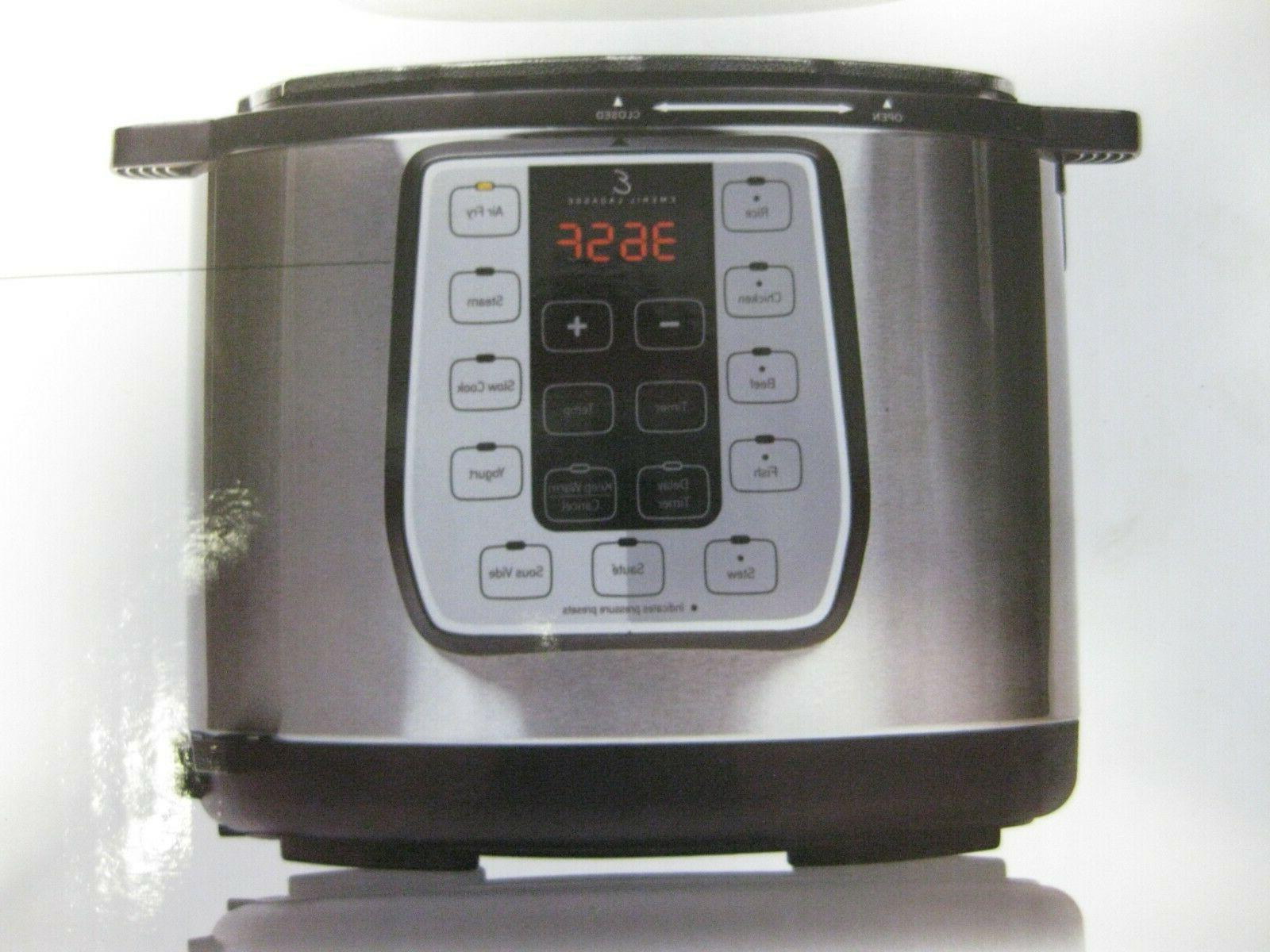 Emeril Pressure Fryer Plus Quart
