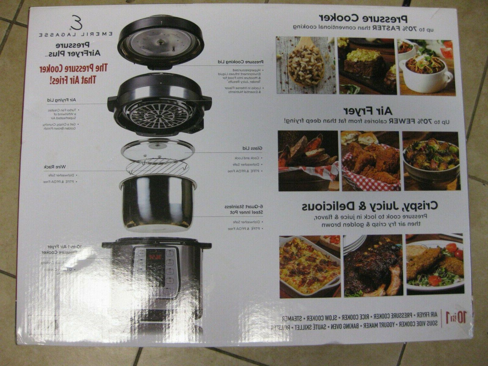Emeril Lagasse Fryer Plus