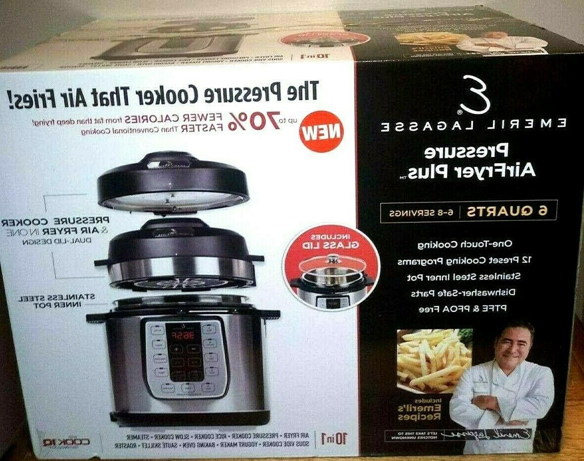 pressure air fryer plus 6 quart