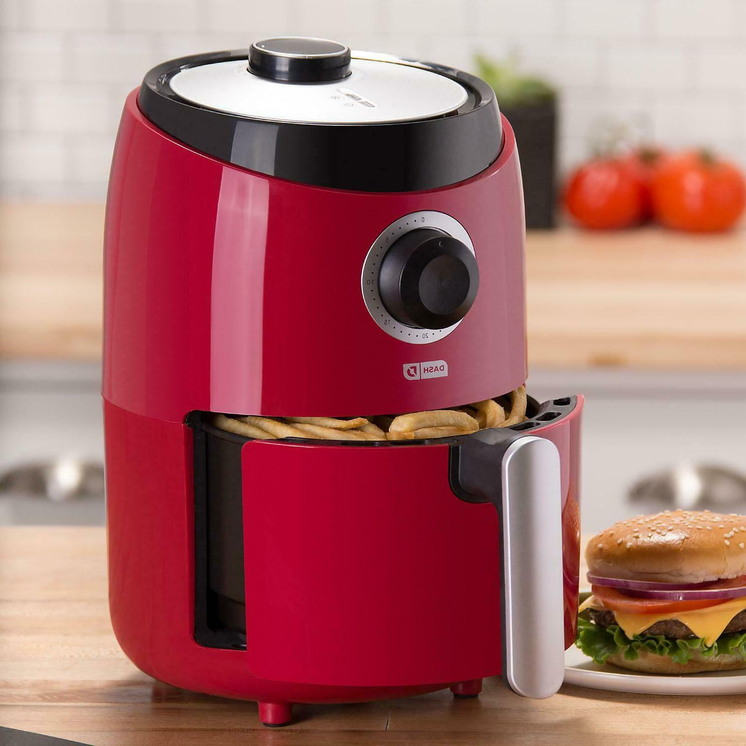 Dash Pro Compact Fryer Red