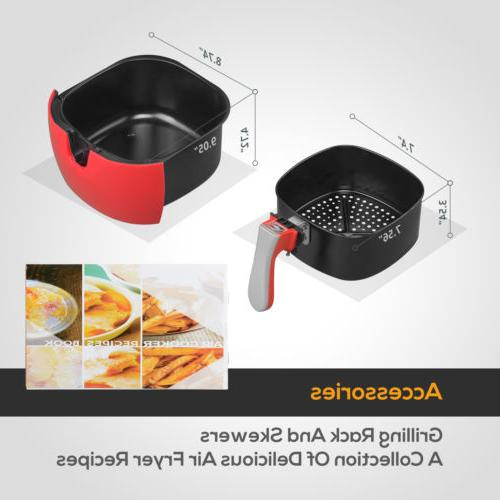 4.4QT Oil with Temperature Timer
