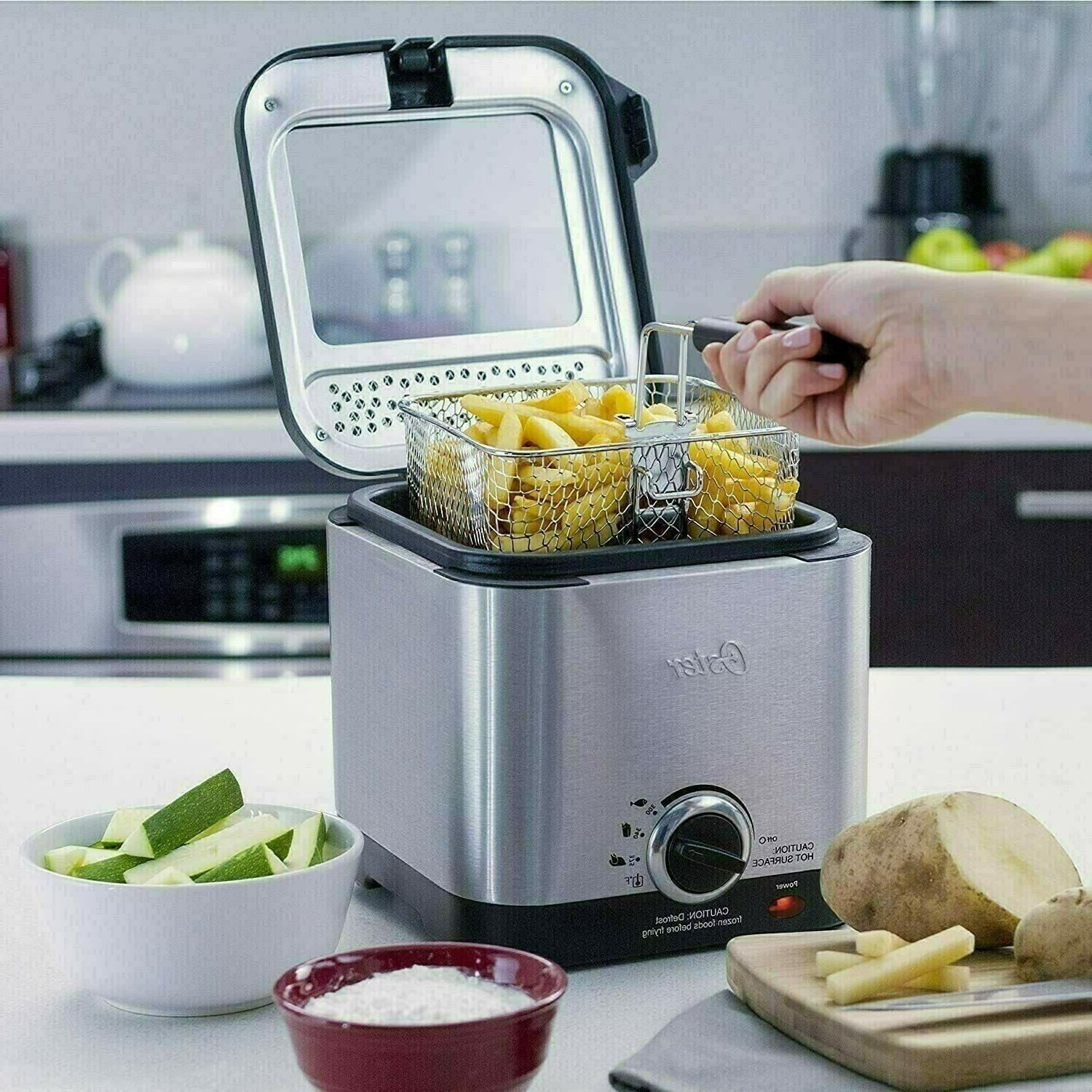 SALE Oster Compact Stainless Deep Fryer Steel