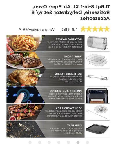 Best Choice SKY5182 1700W 11.6qt Air Oven