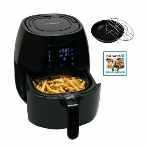 stainless steel healthy air fryer with 1