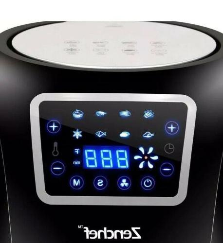 Super Deal Zenchef Pro Xxl Hot Air Fryer