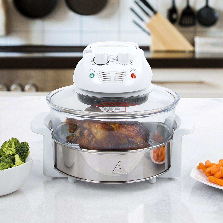 tabletop halogen hot air cooker 12 qt