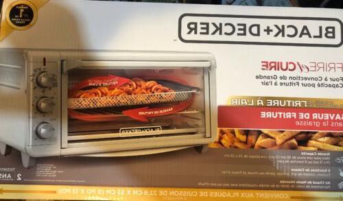 Black Decker To3265xssd Extra Wide Crisp N Bake Air