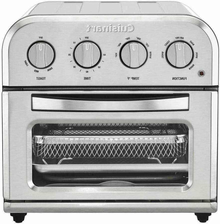 toa 28 compact stainless steel air fryer