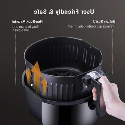 TaoTronics Fryer 9 Cooking Presets, LED Screen Kitchen Cooker,