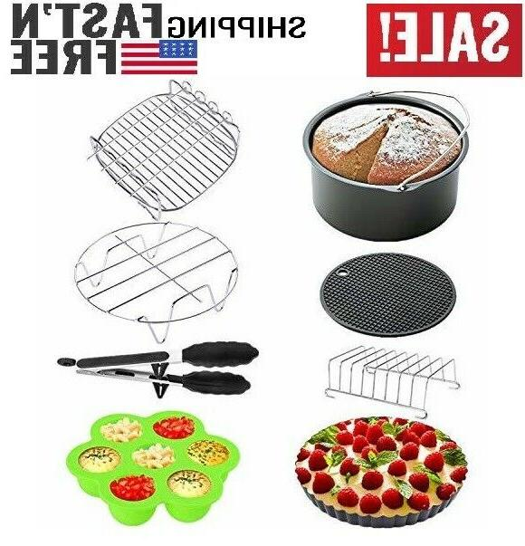 xl air fryer accessories 8 inch 8