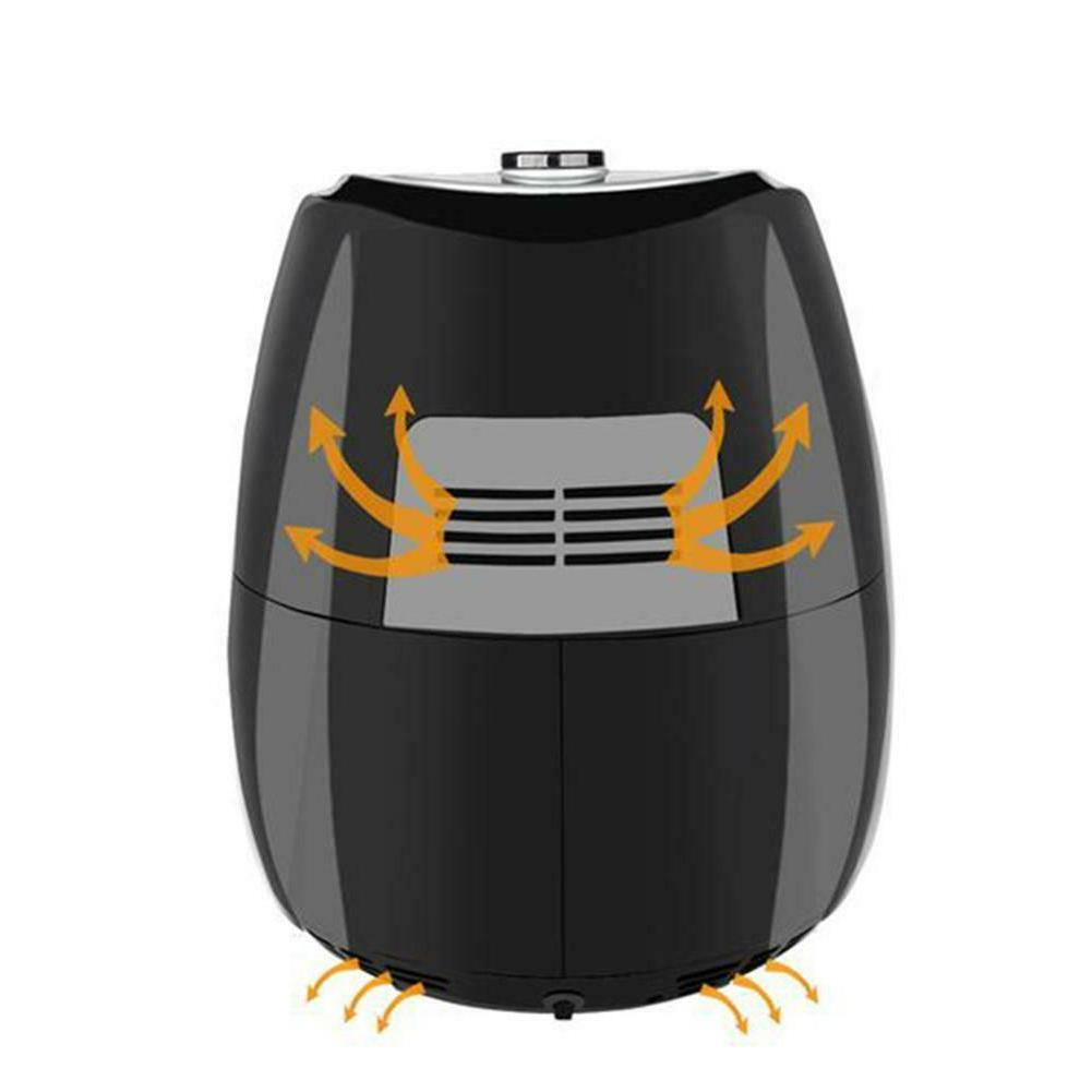 ZOKOP ZAF-1500P 1500W 120V 2.7L Electric Air Fryer US Plug 0