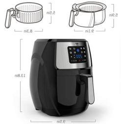 Lager 7.4-Quart Air Fryer 1700 Watt High Speed Healthy Multi