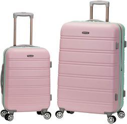 Rockland Melbourne Hardside Expandable Spinner Wheel Luggage