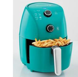 Toastmaster Mini Air Fryer 900 watts from 175–400° F Turq