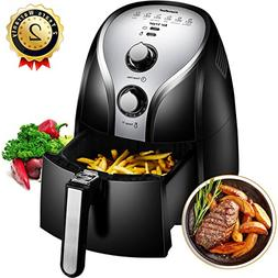 Comfee1500W Multi-Function Electric Hot Air Fryer with 2.6 Q