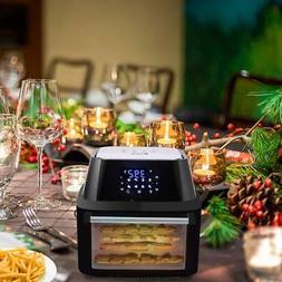 Multi-function Power 16.9QT Air Fryer Oven Dehydrator Rotiss