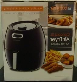 "NEW Cozyna Concord XL Air Fryer 5.8QT - Black Sealed ""FREE S"