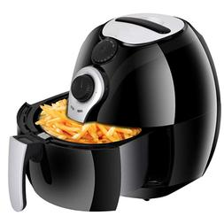 NEW Zeny Electric Air Fryer Large 3.7 Quart Healthy Low-Fat