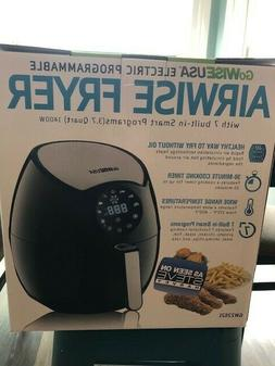 New GoWISE USA Electric Programmable Airwise Fryer-3.7 Quart