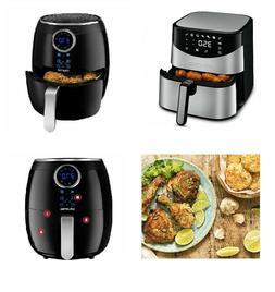 NOB Gourmia Digital Air Fryers 6Qt & 5Qt Capacities - Low Fa