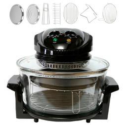 Oil-less Air Fryer Oven 17L 1400W Easy Operation & Built in