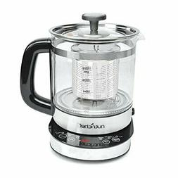 New! NutriChef PKTM15 2-in-1 Electric Kettle - Tea Brewing K