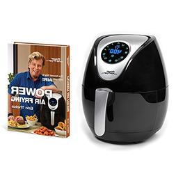 Power Air Fryer XL 3.4 Qt with Power Air Frying Hardcover Co