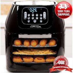 Power Air Fryer Oven All-In-One 6 Quart Plus Dehydrator Gril