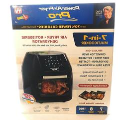 Power Air Fryer Pro Oven 7-in-1 Multi Cooker Air Fryer Dehyd