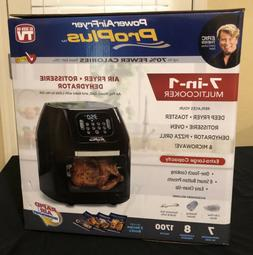 Power Air Fryer Pro Oven Plus 6 QT XL 7 in 1 Cooking 1700W R