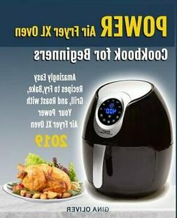 Power Air Fryer Xl Oven Cookbook For Beginners: Amazingly Ea