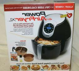 Power AirFryer XL 5.3 qt Fryer 1700 Watts Air Fryer NEW