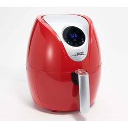 Power XL 2.4-qt Digital 1200W Air Fryer with Recipes and Div