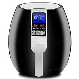 SUPER DEAL Pro 3.7Quart Electric Air Fryer w/ 8 Cooking Pres